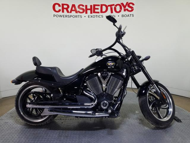 Victory salvage cars for sale: 2010 Victory Hammer 8-B