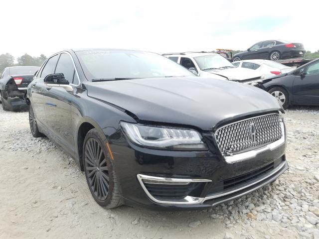 Lincoln MKZ Hybrid salvage cars for sale: 2018 Lincoln MKZ Hybrid