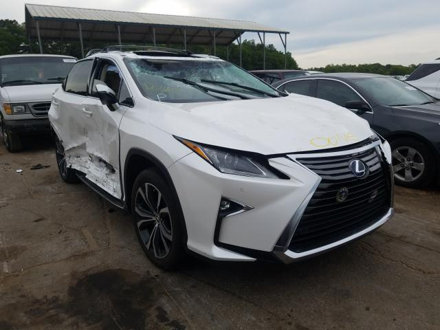 Lexus RX 450H BA salvage cars for sale: 2016 Lexus RX 450H BA