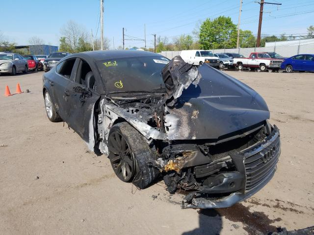 Salvage cars for sale from Copart Pennsburg, PA: 2013 Audi A7 Prestige