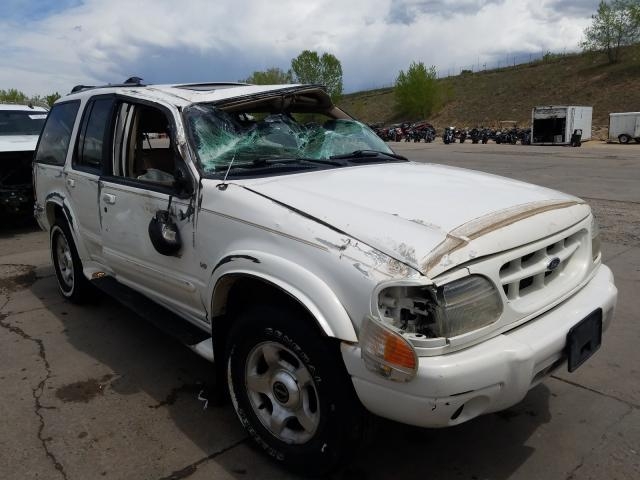 Ford Explorer salvage cars for sale: 1999 Ford Explorer