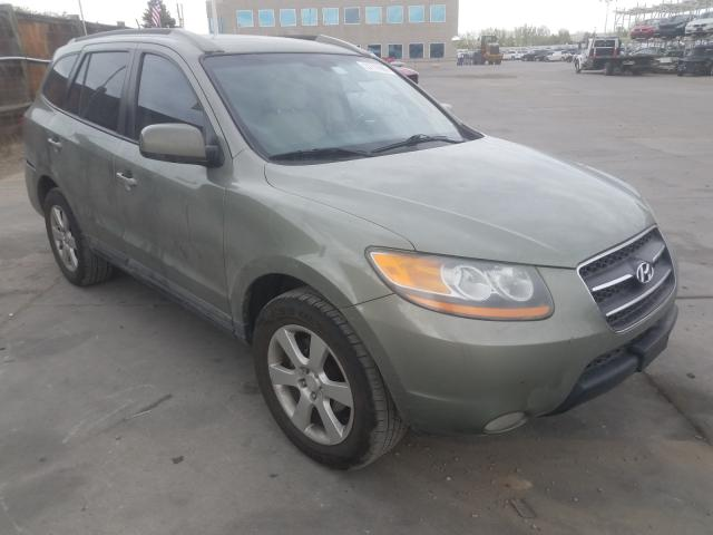 Hyundai Santa FE S salvage cars for sale: 2008 Hyundai Santa FE S