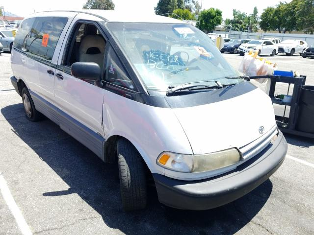 Toyota Previa LE salvage cars for sale: 1991 Toyota Previa LE