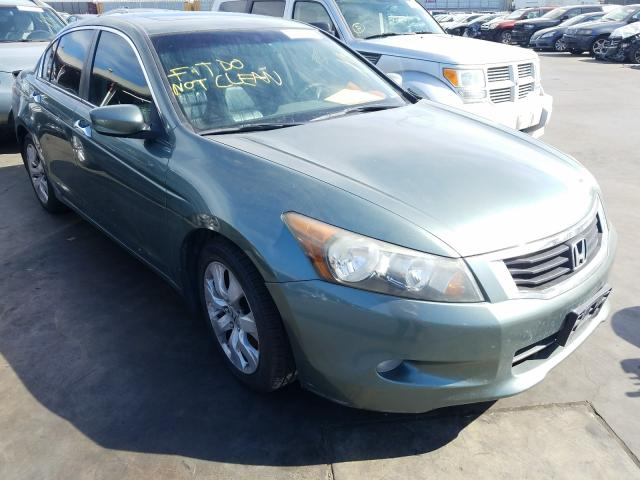 Honda Accord EXL salvage cars for sale: 2008 Honda Accord EXL