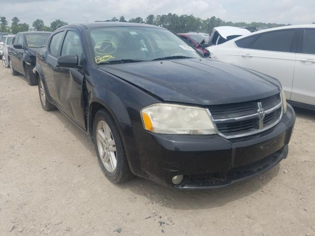 Salvage cars for sale from Copart Houston, TX: 2009 Dodge Avenger SX