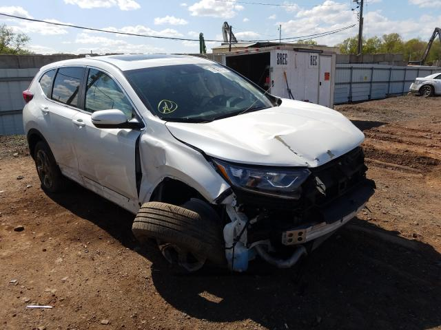 Salvage cars for sale from Copart Hillsborough, NJ: 2017 Honda CR-V EXL