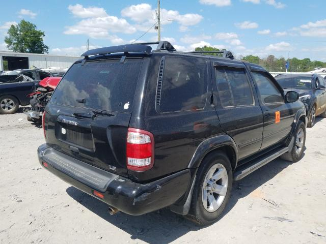 salvage title 2002 nissan pathfinder 4dr spor 3 5l for sale in montgomery al 37151830 a better bid car auctions