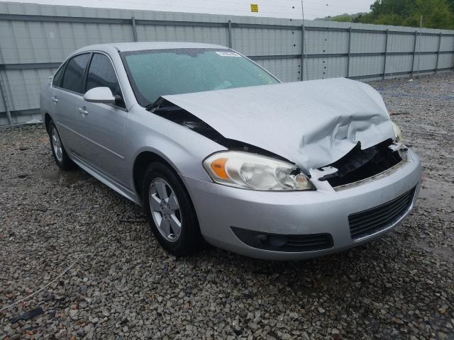 Chevrolet salvage cars for sale: 2010 Chevrolet Impala LT