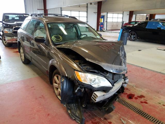 Subaru salvage cars for sale: 2008 Subaru Outback 2