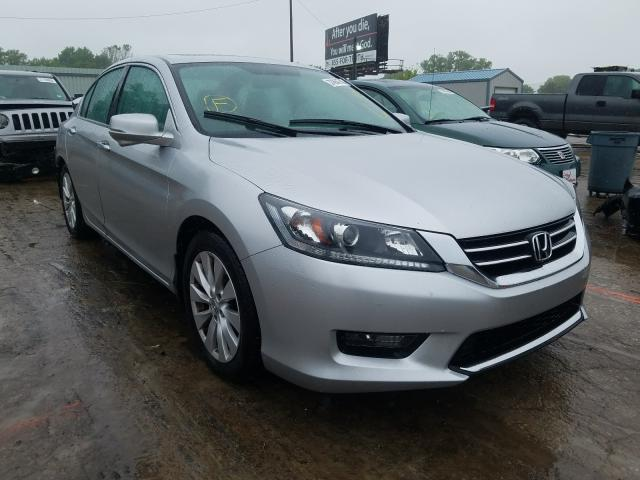 Salvage cars for sale from Copart Wichita, KS: 2014 Honda Accord EX
