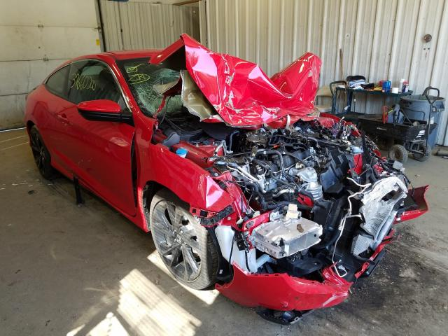 Salvage cars for sale from Copart Lyman, ME: 2019 Honda Civic Sport