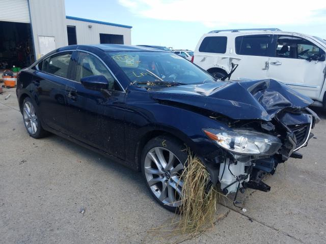 Mazda salvage cars for sale: 2016 Mazda 6 Touring