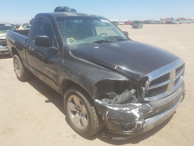 Salvage cars for sale from Copart Amarillo, TX: 2007 Dodge RAM 1500 S