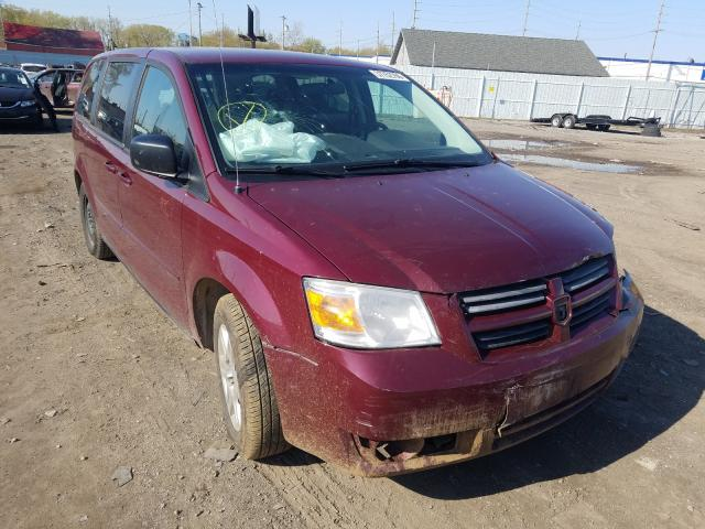 Salvage cars for sale from Copart Hammond, IN: 2009 Dodge Grand Caravan