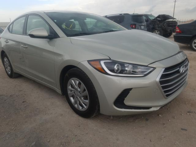 Salvage cars for sale from Copart Andrews, TX: 2017 Hyundai Elantra SE