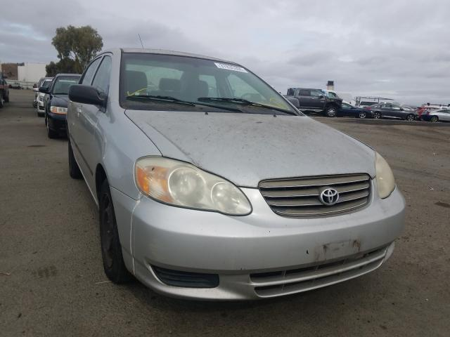 Toyota Corolla salvage cars for sale: 2003 Toyota Corolla