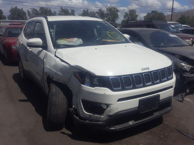 Salvage cars for sale from Copart Colton, CA: 2019 Jeep Compass LA
