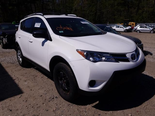 Salvage cars for sale from Copart Lyman, ME: 2013 Toyota Rav4 LE
