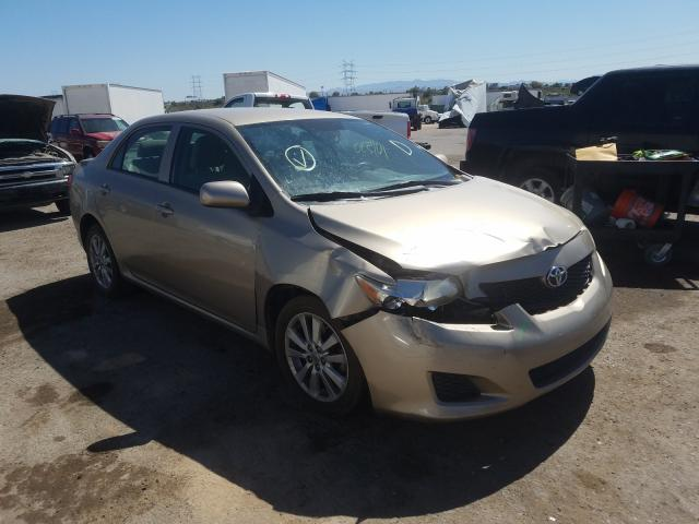 Salvage cars for sale from Copart Tucson, AZ: 2009 Toyota Corolla BA