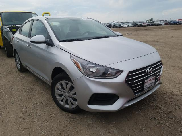 Hyundai salvage cars for sale: 2019 Hyundai Accent SE