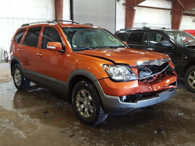 Salvage cars for sale from Copart Lansing, MI: 2009 KIA Borrego LX