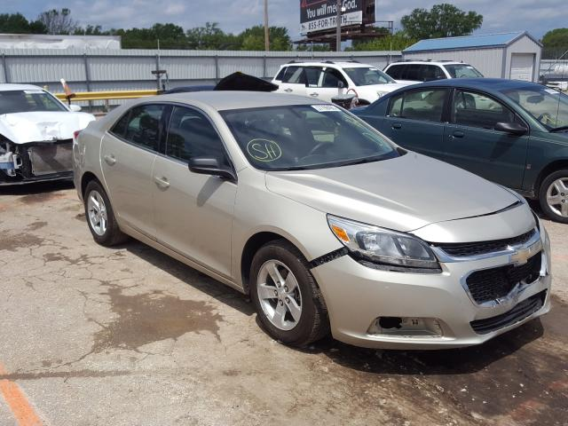 Salvage cars for sale from Copart Wichita, KS: 2015 Chevrolet Malibu LS