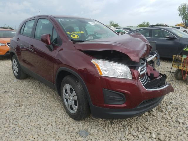 Vehiculos salvage en venta de Copart Kansas City, KS: 2016 Chevrolet Trax LS