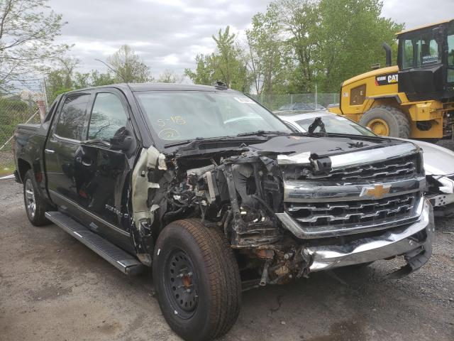 Salvage cars for sale from Copart Marlboro, NY: 2017 Chevrolet Silverado