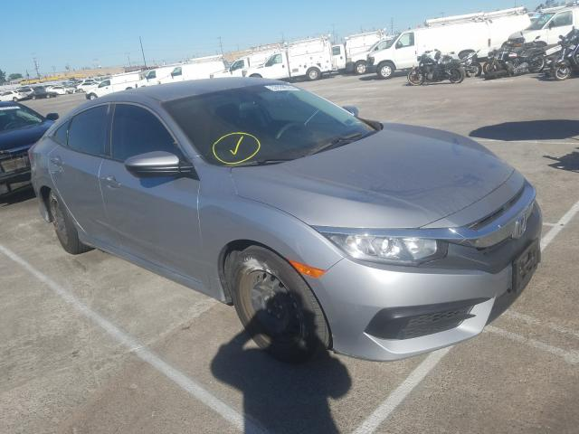 Honda Civic LX salvage cars for sale: 2018 Honda Civic LX