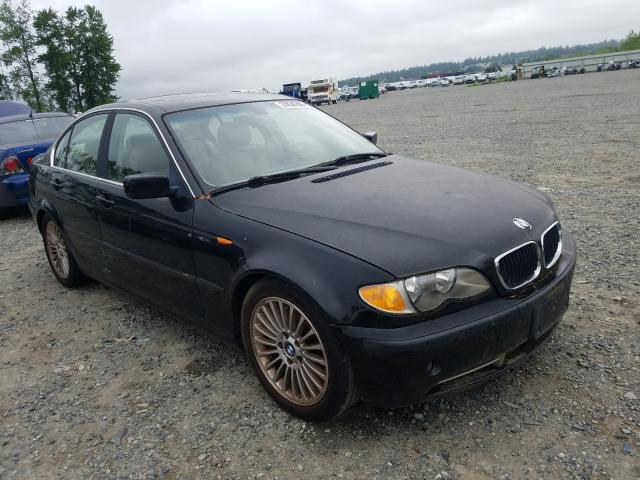BMW 330 I salvage cars for sale: 2003 BMW 330 I