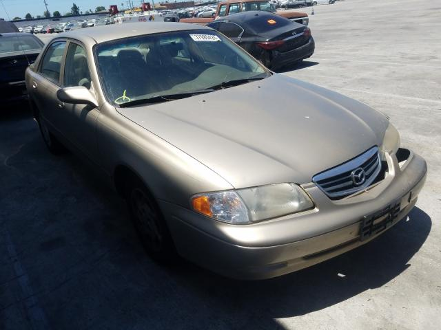 Mazda 626 ES salvage cars for sale: 2000 Mazda 626 ES