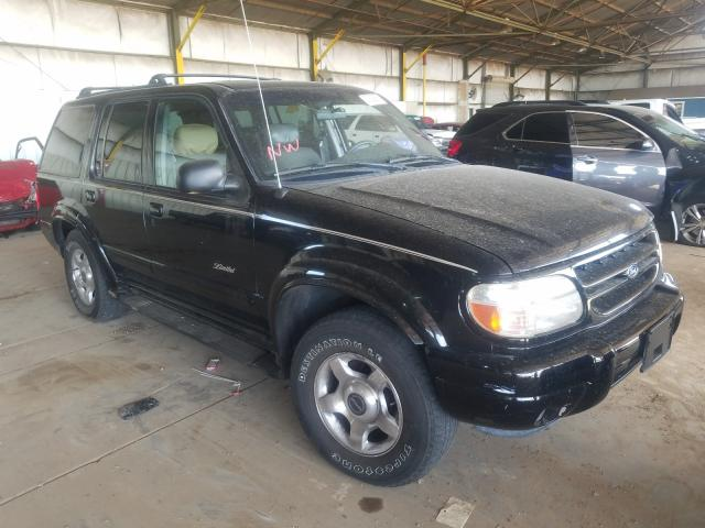 Ford Explorer L salvage cars for sale: 2000 Ford Explorer L