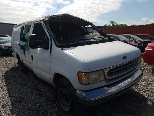 Ford Econoline salvage cars for sale: 1997 Ford Econoline