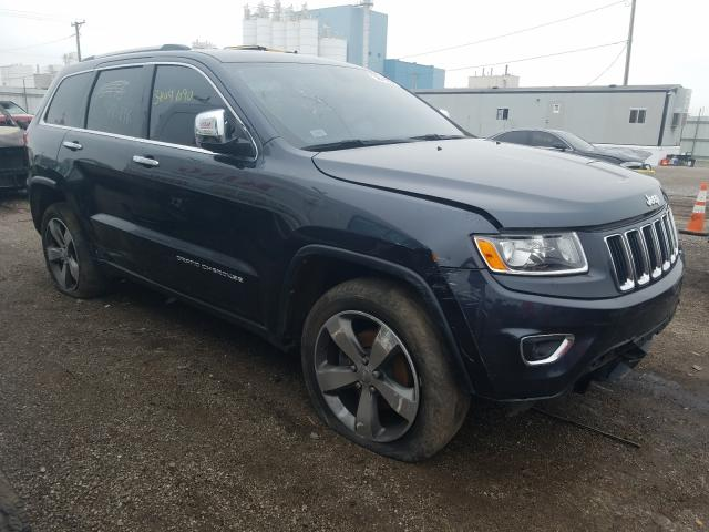 Salvage cars for sale at Chicago Heights, IL auction: 2014 Jeep Grand Cherokee