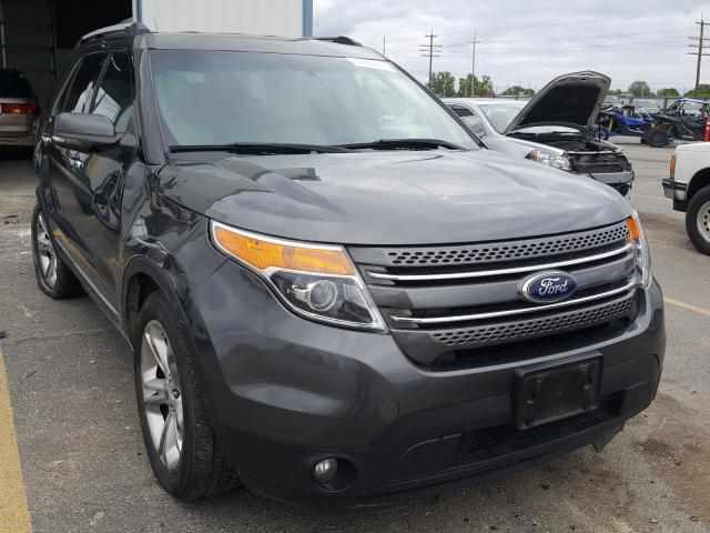 Ford Explorer L salvage cars for sale: 2015 Ford Explorer L