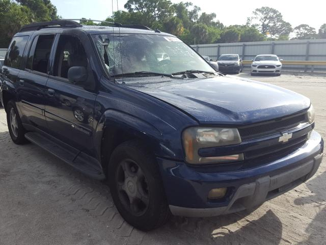Salvage cars for sale from Copart Fort Pierce, FL: 2004 Chevrolet Trailblazer