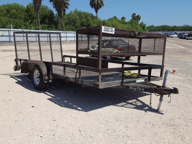 Salvage cars for sale from Copart Mercedes, TX: 2005 Other Trailer