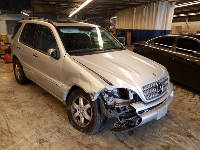 Mercedes-Benz ML 500 salvage cars for sale: 2004 Mercedes-Benz ML 500