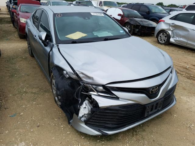 Salvage cars for sale from Copart San Antonio, TX: 2018 Toyota Camry L