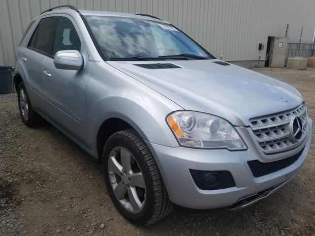 Mercedes-Benz salvage cars for sale: 2009 Mercedes-Benz ML 350