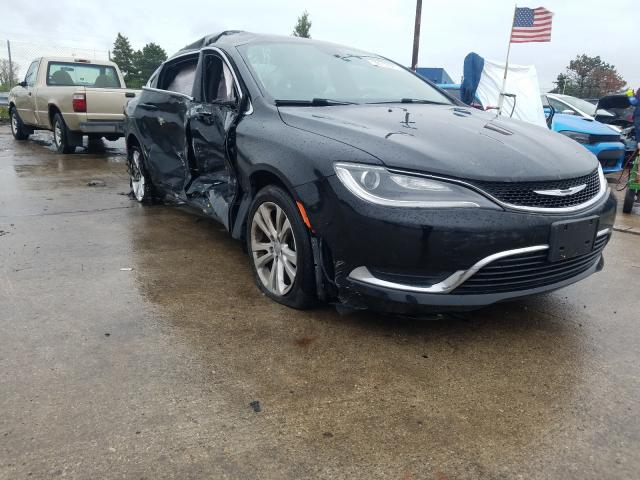 2015 Chrysler 200 Limited for sale in Woodhaven, MI