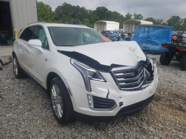 Cadillac XT5 Premium salvage cars for sale: 2018 Cadillac XT5 Premium