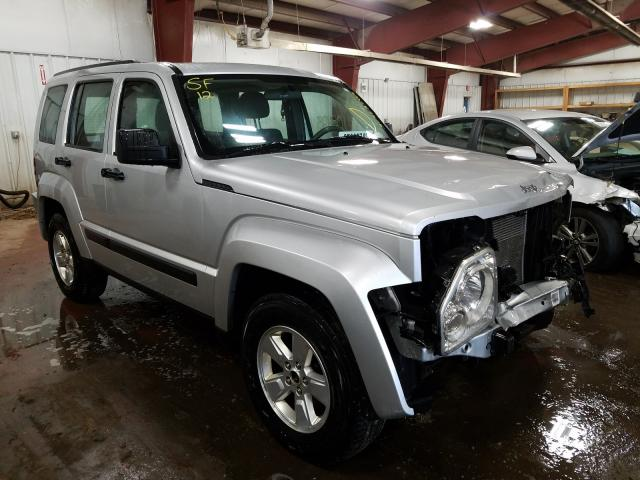 Salvage cars for sale from Copart Lansing, MI: 2012 Jeep Liberty SP