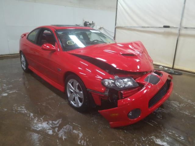 Pontiac GTO salvage cars for sale: 2005 Pontiac GTO