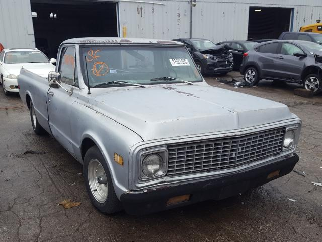 Chevrolet Pickup salvage cars for sale: 1971 Chevrolet Pickup