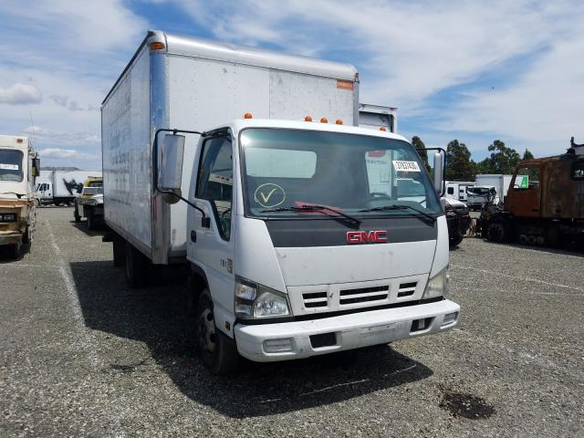 GMC W4500 W450 salvage cars for sale: 2007 GMC W4500 W450