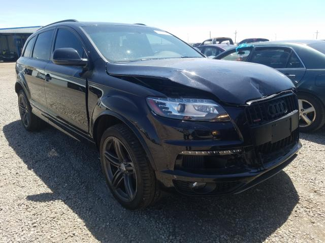 Audi Q7 Prestige salvage cars for sale: 2014 Audi Q7 Prestige