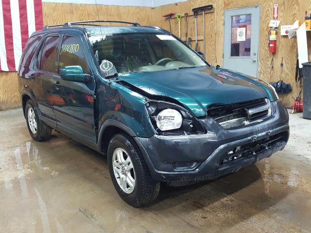 Salvage cars for sale from Copart Kincheloe, MI: 2004 Honda CR-V EX
