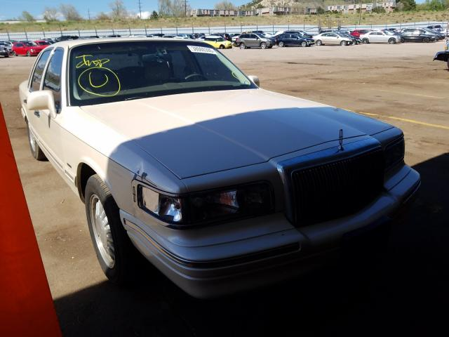 Lincoln Town Car salvage cars for sale: 1997 Lincoln Town Car
