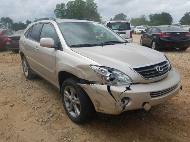 Lexus RX 400H salvage cars for sale: 2007 Lexus RX 400H